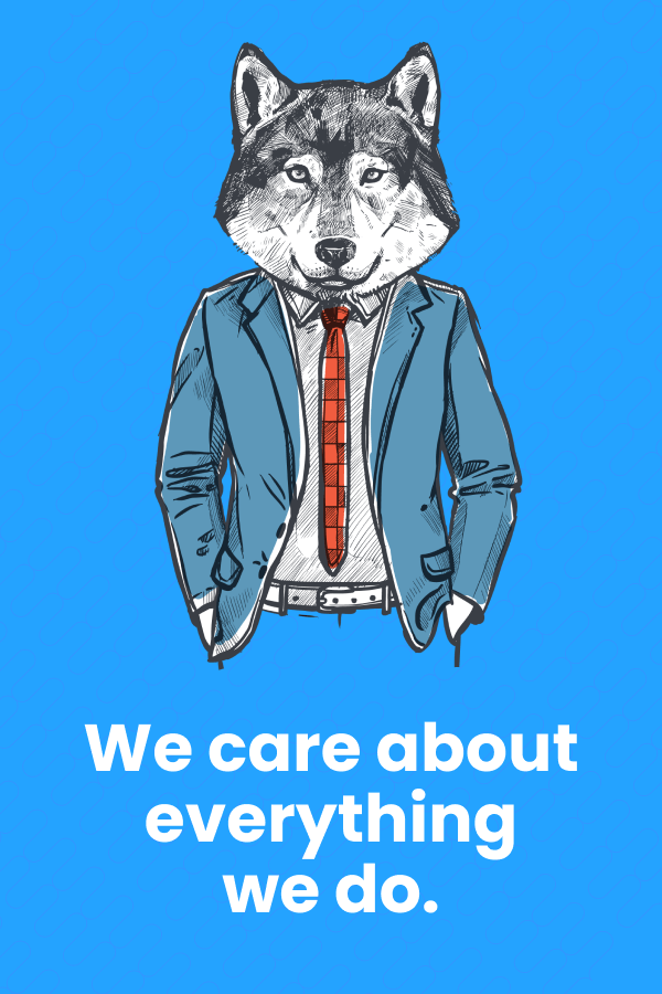 we care about everything we do
