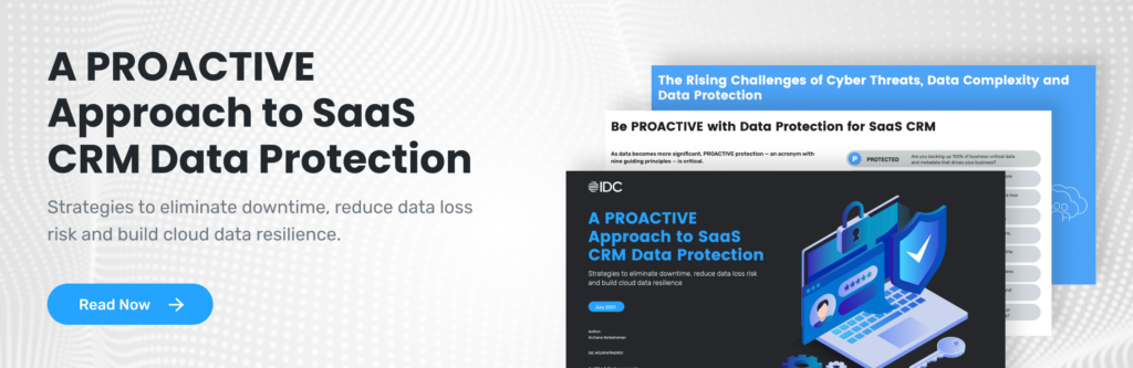 Proactive Approach to SaaS Data Protection